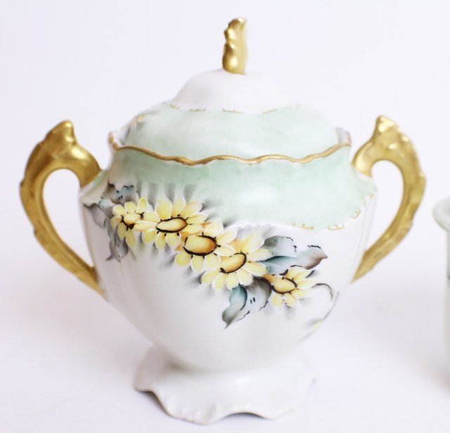 LIMOGES TEA SERVICE SET - 2