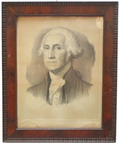 COPPER PLATE ENGRAVING OF GEORGE WASHINGTON