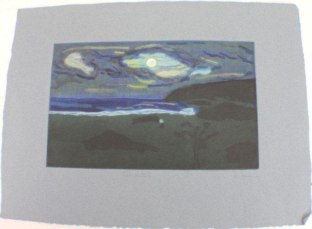RAFAEL FERRER - LITHOGRAPH TEMPISTAD
