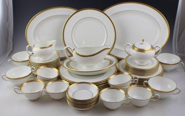 WEDGWOOD SENATOR PATTERN BONE CHINA TEA SET