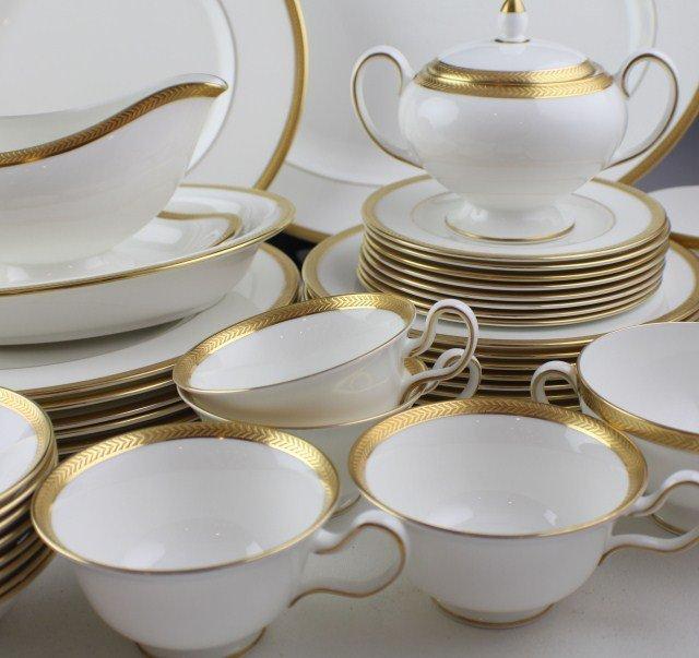 WEDGWOOD SENATOR PATTERN BONE CHINA TEA SET - 3