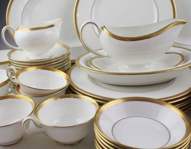 WEDGWOOD SENATOR PATTERN BONE CHINA TEA SET - 4