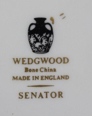 WEDGWOOD SENATOR PATTERN BONE CHINA TEA SET - 5