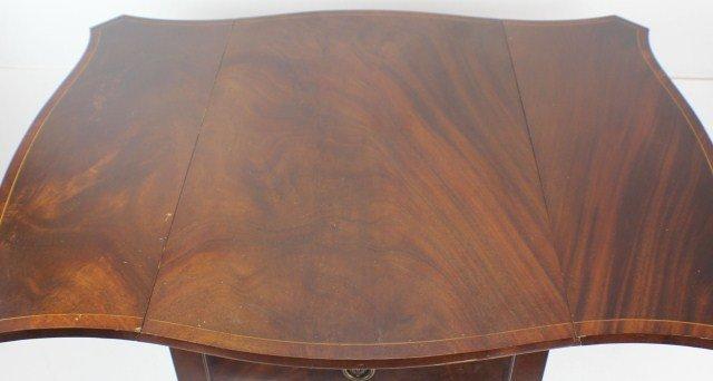 PAIR OF INLAID PEMBROKE TABLES TIBBENHAM IPSWICH - 3