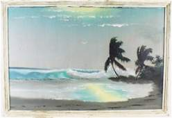 LEM NEWTON FLORIDA HIGHWAYMEN COASTAL LANDSCAPE