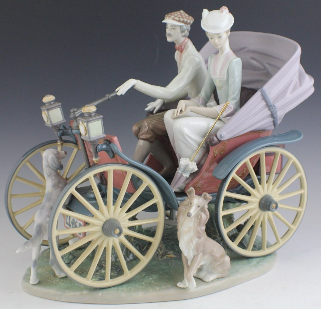 RETIRED LIMITED ED LLADRO A SUNDAY DRIVE 1510