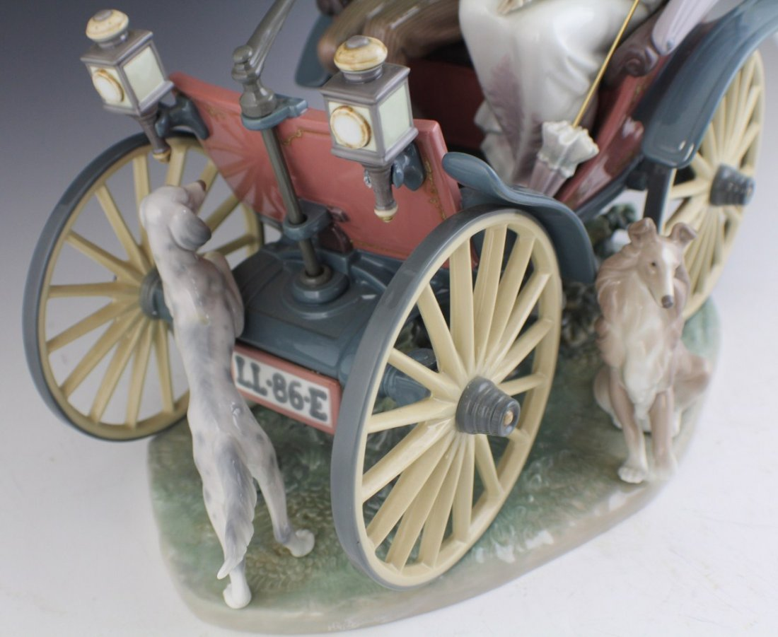 RETIRED LIMITED ED LLADRO A SUNDAY DRIVE 1510 - 2