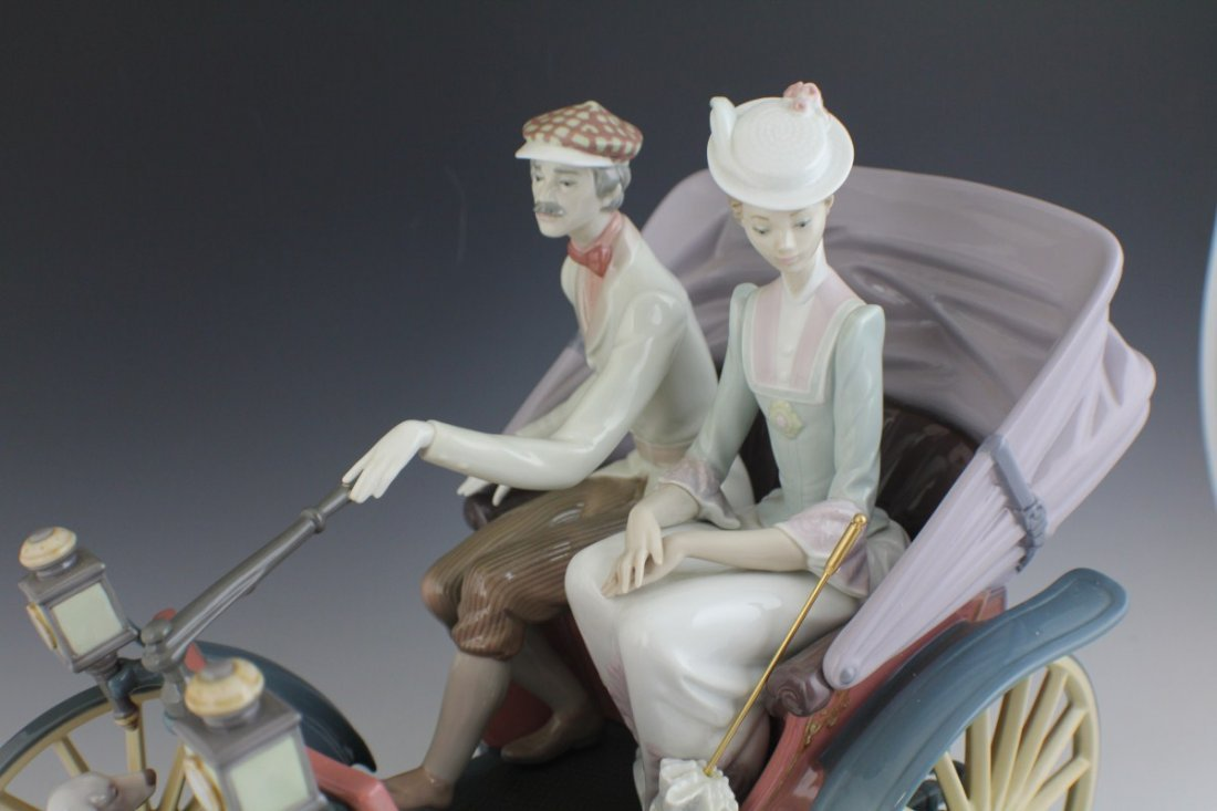 RETIRED LIMITED ED LLADRO A SUNDAY DRIVE 1510 - 3