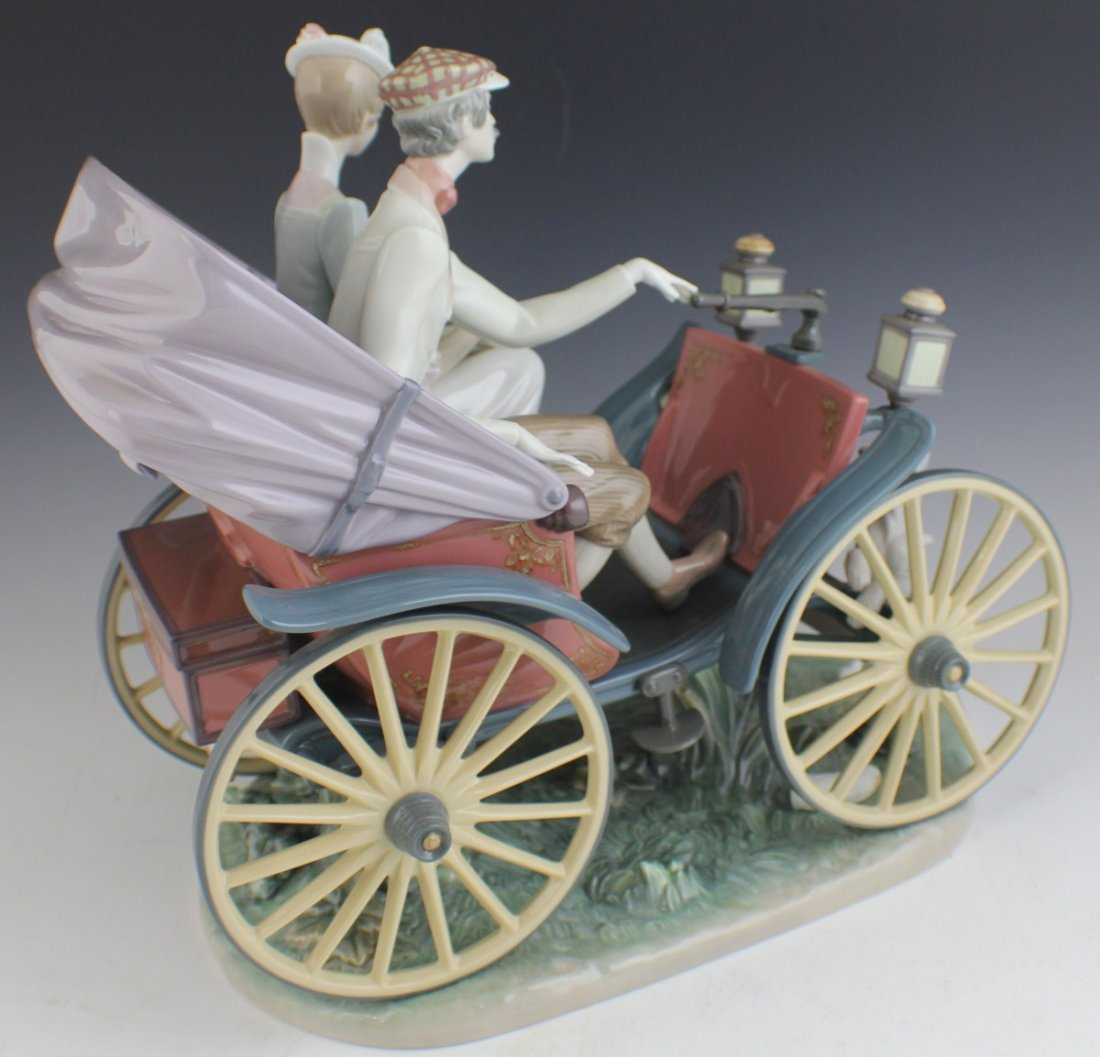 RETIRED LIMITED ED LLADRO A SUNDAY DRIVE 1510 - 4