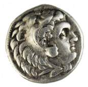 GREEK COIN ALEXANDER THE GREAT SILVER DRACHM