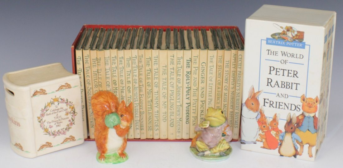 BEATRIX POTTER BOOKS AND FIGURES