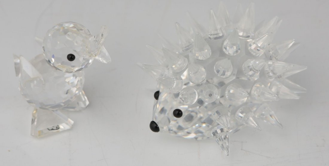 LOT OF TWO SWAROVSKI ANIMAL FIGURINES