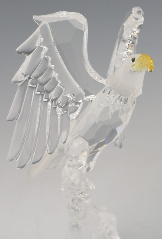 SWAROVSKI CRYSTAL FIGURINE EAGLE