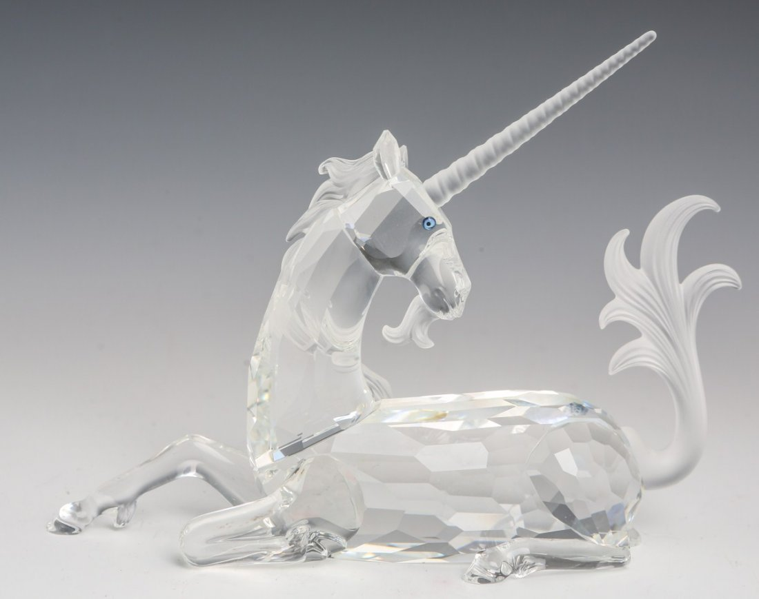 SWAROVSKI CRYSTAL SCS 1996 THE UNICORN