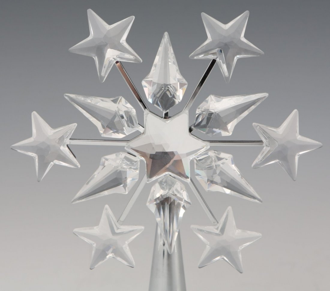 SWAROVSKI CRYSTAL STAR TREE TOPPER