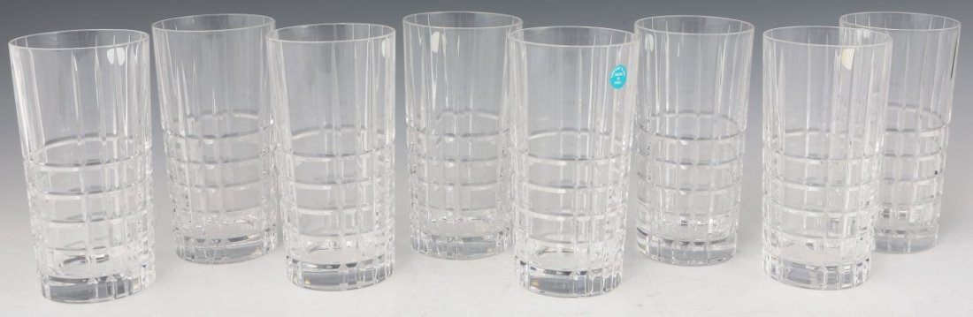 TIFFANY CRYSTAL HIGHBALL GLASSES