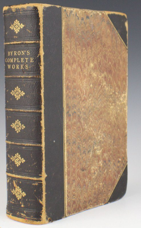 BYRON'S COMPLETE WORKS ILLUSTRATED 1861