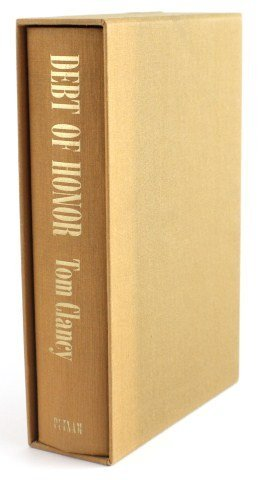 TOM CLANCY - DEBT OF HONOR SIGNED EDITION