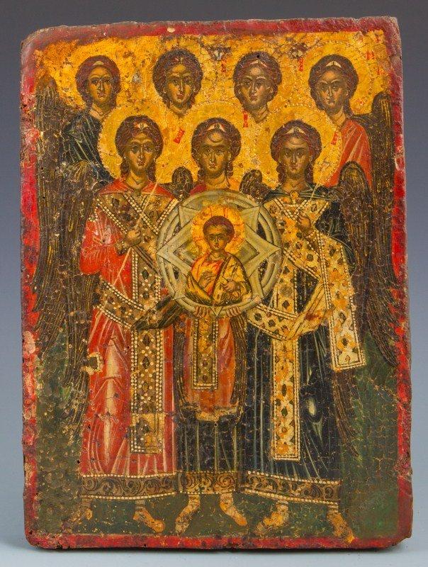 17TH CENTURY RUSSIAN RELIGIOUS ICON