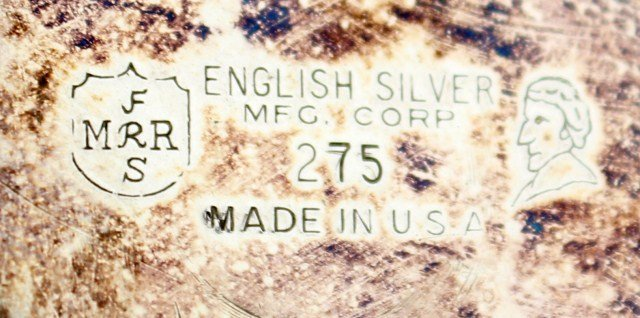 ENGLISH SILVER MFG CORP PLATED TEA SERVICE - 3