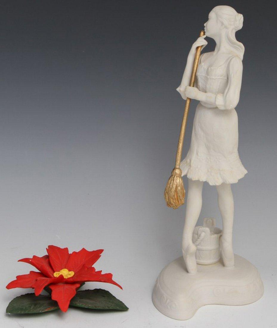 BOEHM BALLERINA & CAPODIMONTE FLOWER