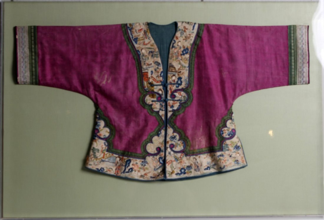 LATE QING CHILDS CHINESE EMBROIDERED JACKET