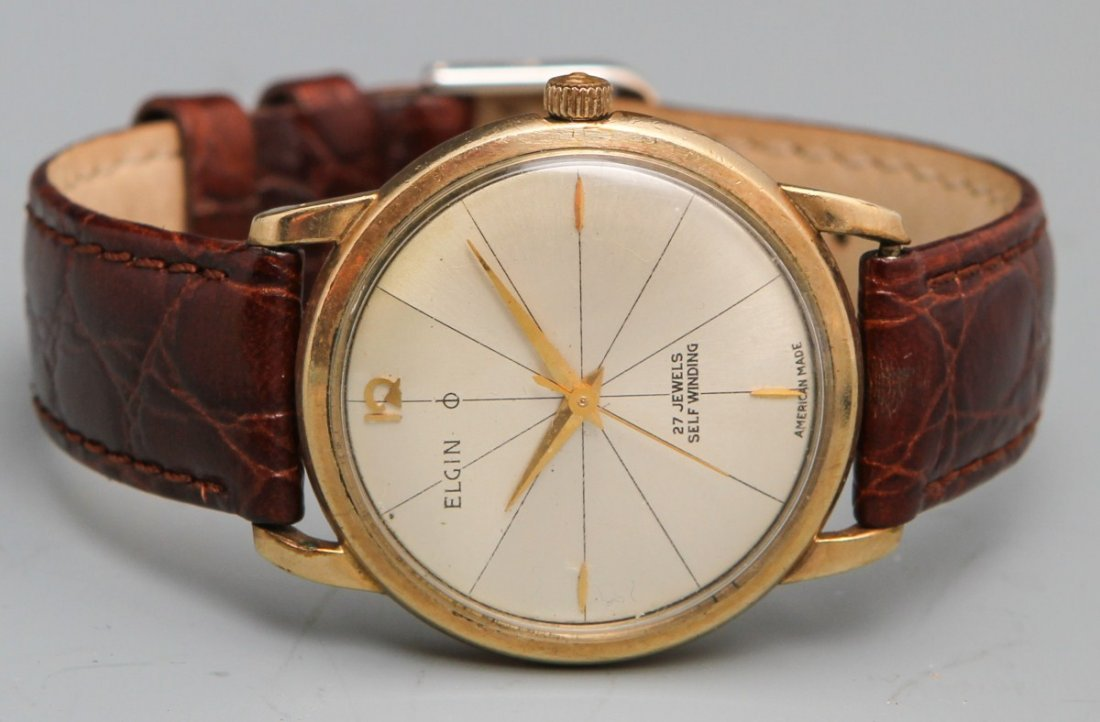 ELGIN 27 JEWEL SELFWINDING WRISTWATCH