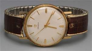 Vintage Omega 14k Gold-Filled Wristwatch