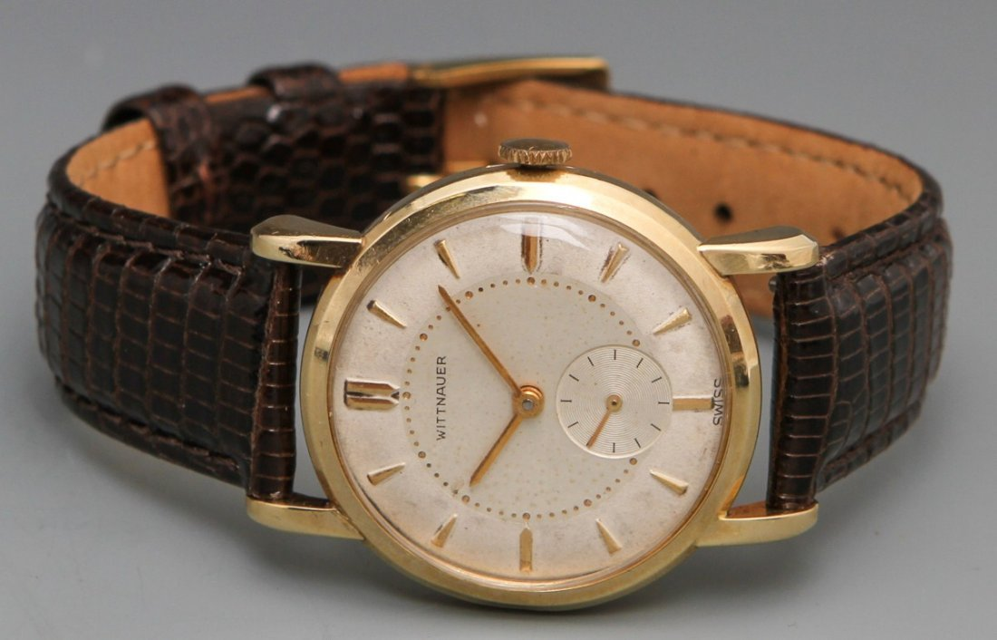 14K WITTNAUER REVUE MANUAL WRISTWATCH