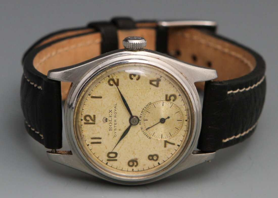 ROLEX OYSTER ROYAL 1950'S MANUAL WRISTWATCH