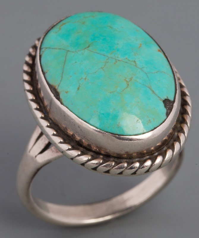 Bijoux Fantaisie Vintage Navajo Persin Turquoise Argent Sterling With A Long Standing Reputation Bijoux, Montres