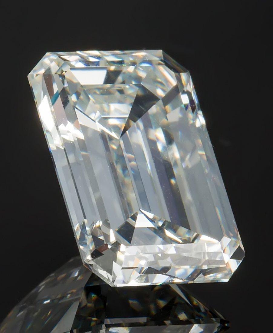 EMERALD CUT DIAMOND 3.58 CARAT GIA CERTIFIED VVS-1