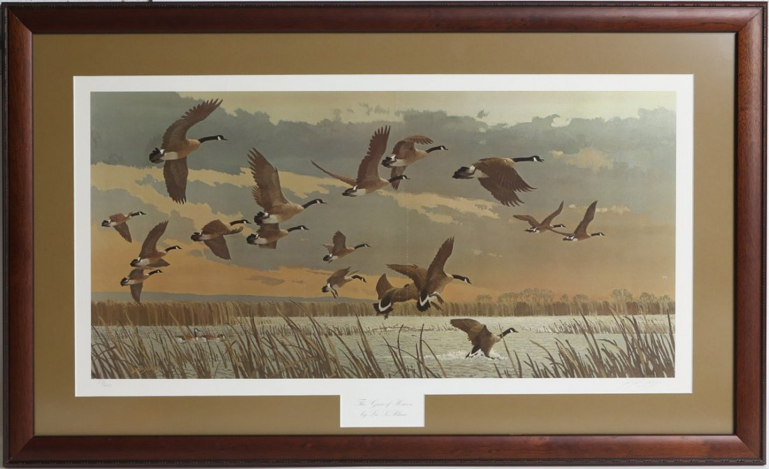 "DUCKS UNLIMITED L. LEBLANC ""THE GEESE OF HORICON"""