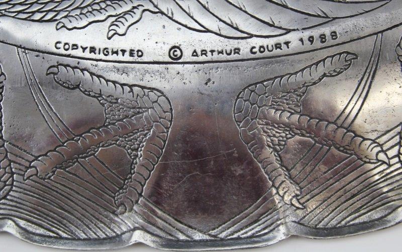 ARTHUR COURT TURKEY PLATTER WITH CARNELIAN EYE - 5