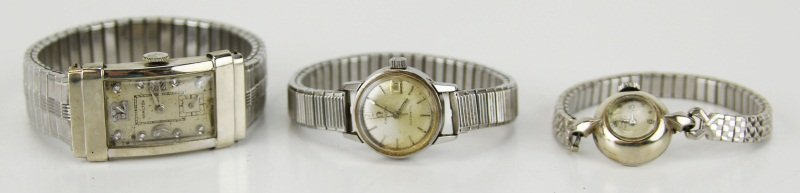 (3) VINTAGE AUTOMATIC WATCHES