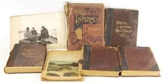 5 LATE 19TH CENTURY BOOKS