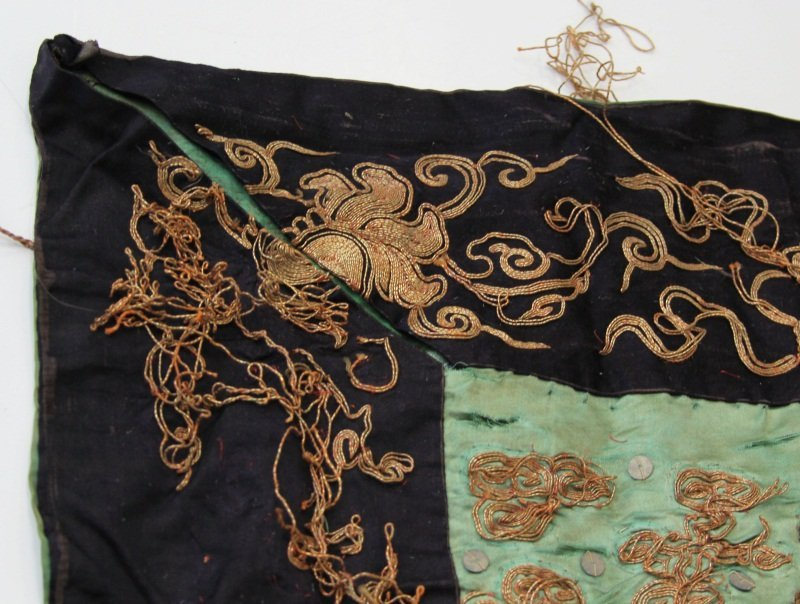 EMBROIDERED ASIAN FLAG 18TH / 19TH CENTURY - 5