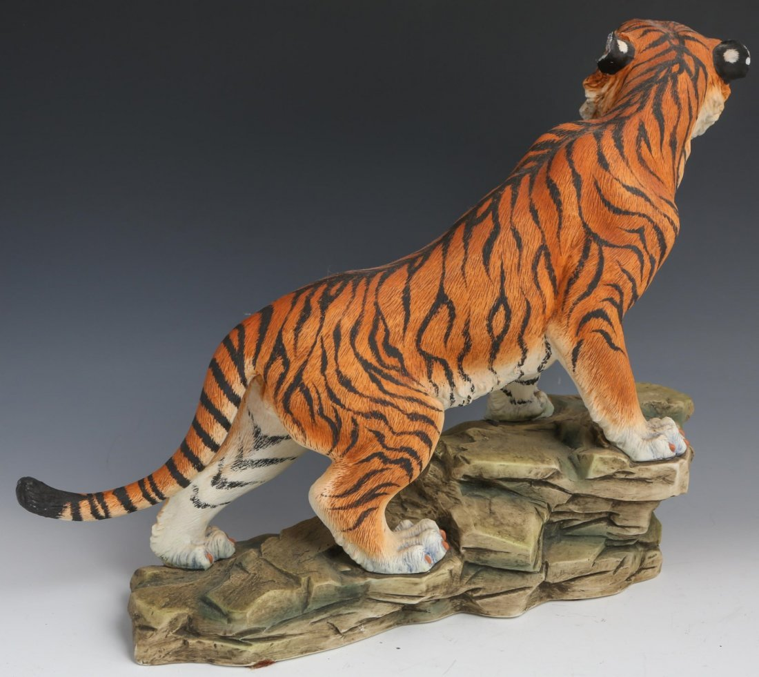 PORCELAIN BENGAL TIGER BY ANDREA FIGURE - 3
