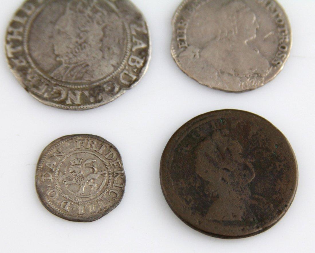 (4) EUROPEAN & RUSSIAN COINS 17TH - 18TH C - 3