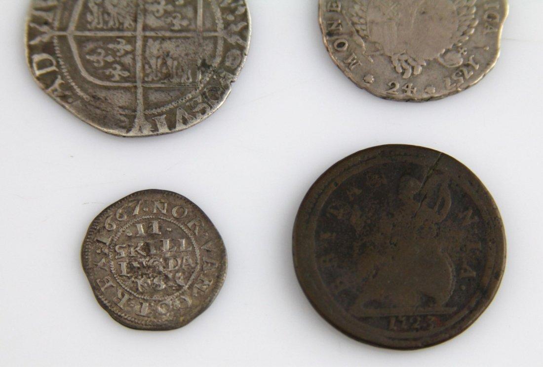 (4) EUROPEAN & RUSSIAN COINS 17TH - 18TH C - 6