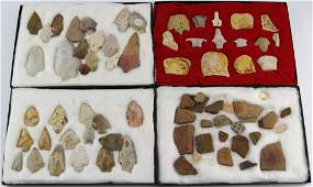 A COLLECTION OF FL  GA ESTATE POINTS  ARTIFACTS