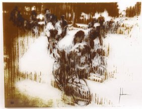 Edna Glaubman Screenprint On Acrylic 123/300