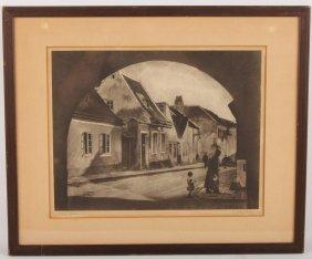 A. Aubrey Bodine 1934 Vienna Austria Photo Print