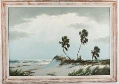 HAROLD NEWTON FLORIDA HIGHWAYMEN RIO MAR PAINTING