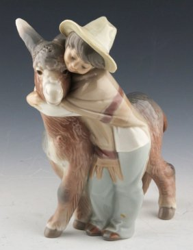 """Lladro """"platero And Marcelind"""""""