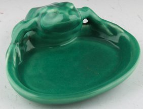 Rookwood Pottery Toad Tray 1928