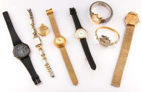 Lot Of 7 Assorted Mens And Womens Watches