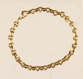 Tiffany & Co. 18k Ladies Dual View Charm Bracelet