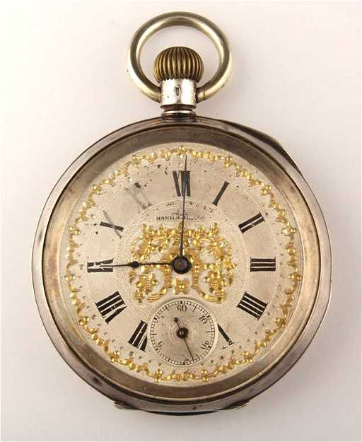 OMEGA FOR ESTRELLA DEL NORTE STERLING POCKET WATCH. See Sold Price d8dcee1a23