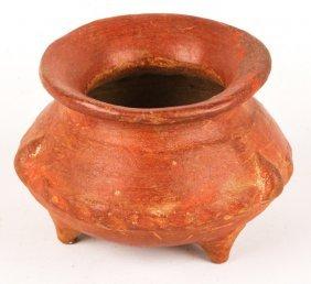 Pre-columbian Panama Tripod Bowl